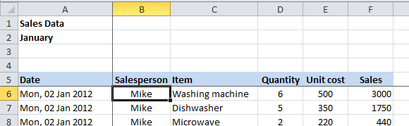 lock cells in excel for scrolling