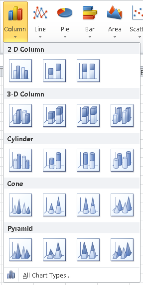 How to create a bar or column chart in Excel. Learn Microsoft ...