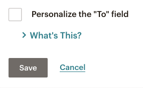 Mailchimp Email Campaigns - Personalize the To: field | Learn Mailchimp with Five Minute Lessons